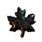 Leaf-shaped Custom Glass Clip